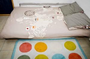 Lit montessori pour le sommeil de l'enfant