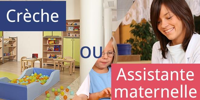 assistante maternelle ou crèche