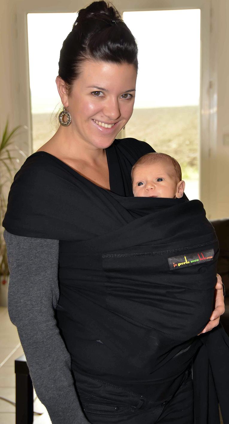 4ae31307e12 Portage physiologique   bien porter son bébé en écharpe.