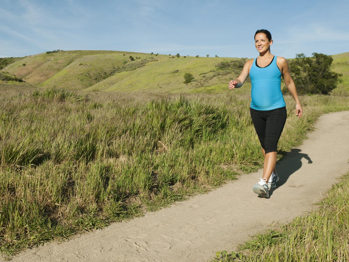 Faire du sport pendant la grossesse. Une vrai source de bien être.