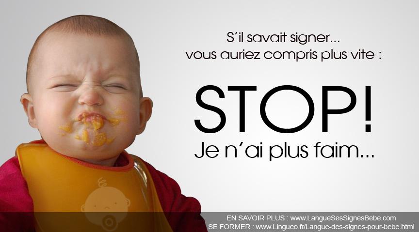 La langue des signes avec bébé. A tester de toute urgence!