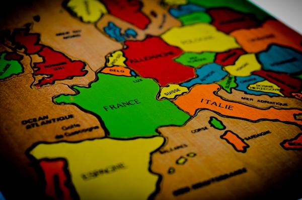 carte puzzle europe type montessori