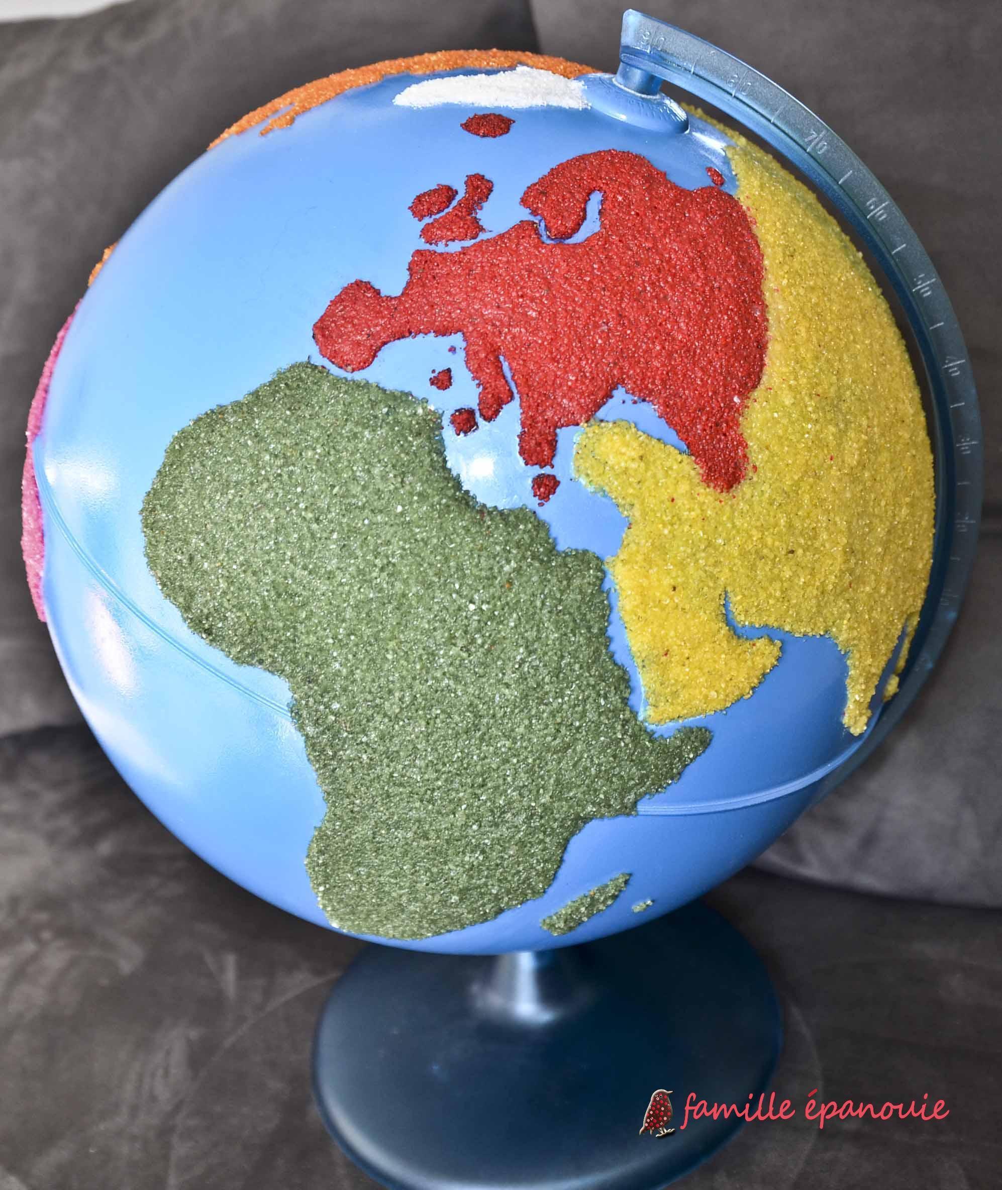 Fabriquer son globe Montessori facilement