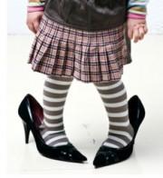 chaussure bébé trop grande