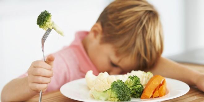 enfant refuse de manger