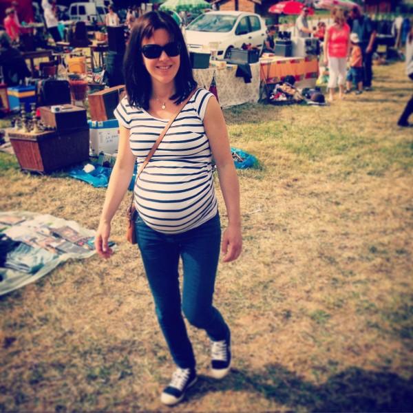 huit mois de grossesse