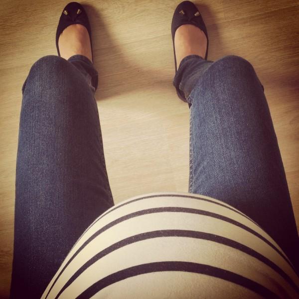 neuf mois de grossesse
