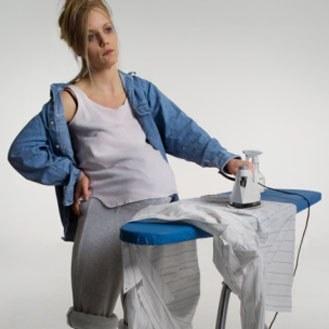 tâche ménagère enceinte