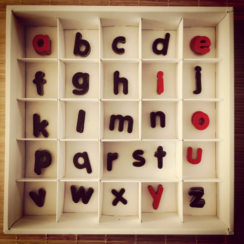 lettre minuscule