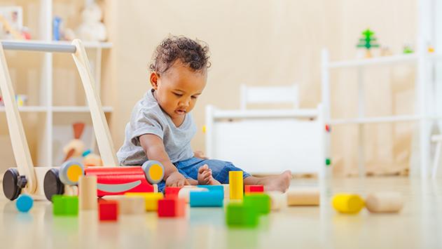 Jouets d'éveil 1er âge, idées cadeaux pas chers enfant 12