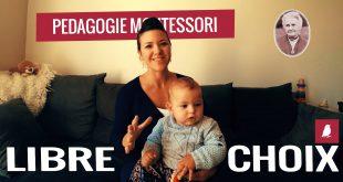 Le libre choix - Pédagogie Montessori