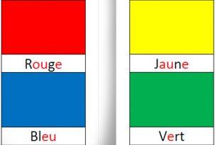 Cartes Montessori pour apprendre les couleurs