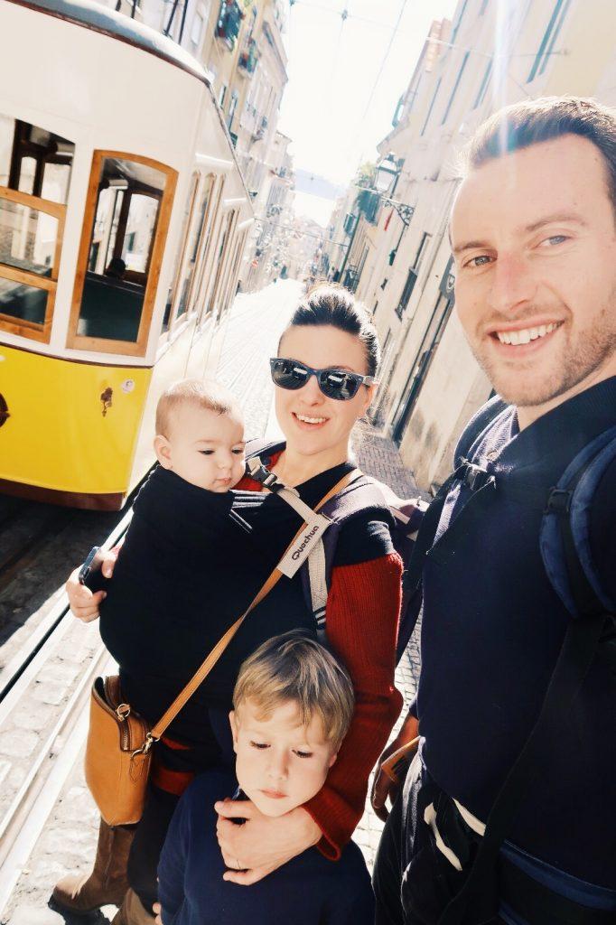 Elevador da Gloria - Visiter Lisbonne en famille