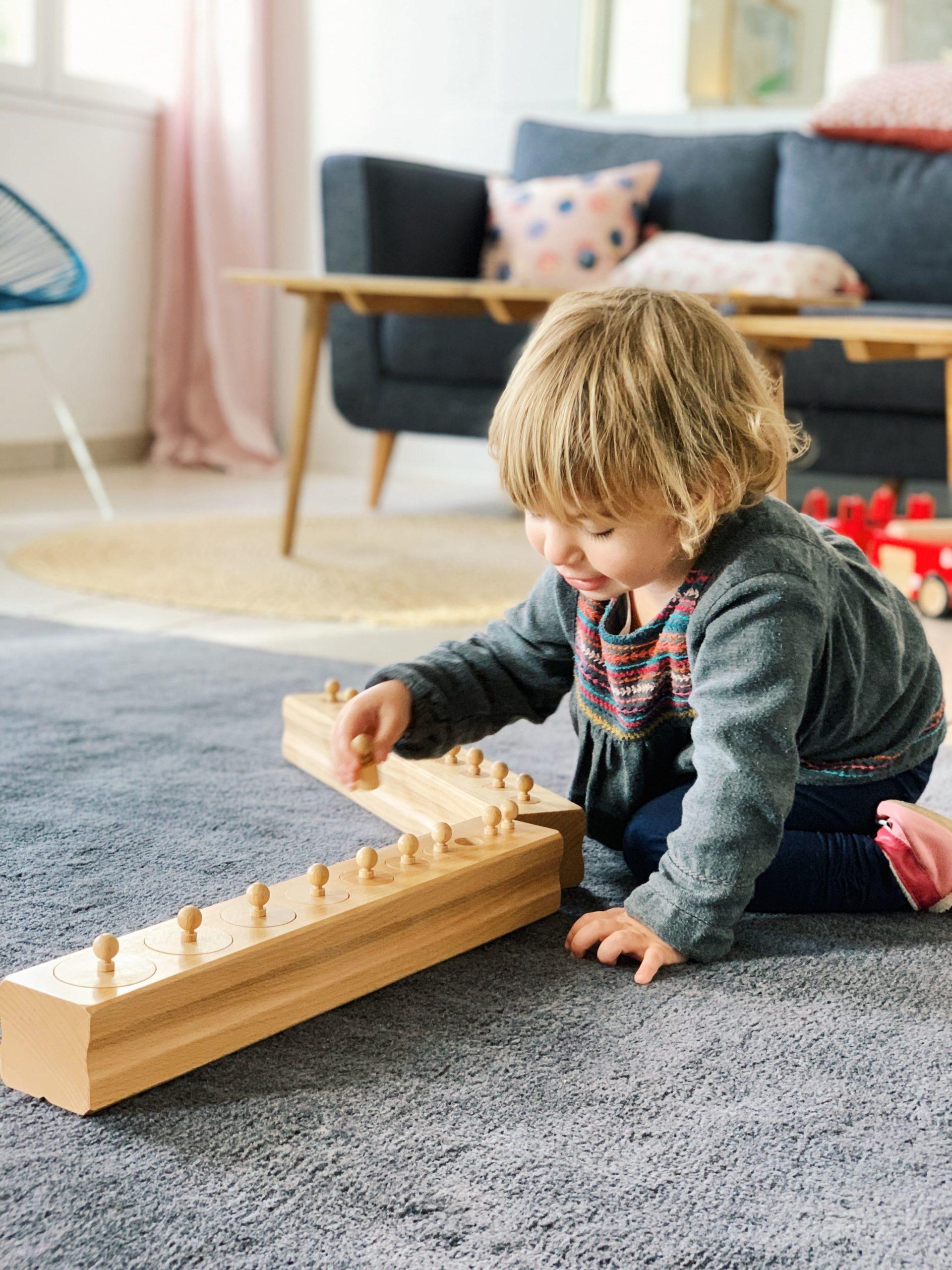 Nos 3 meilleures activités Montessori à la maison