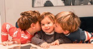 Bonheur de 3 enfants