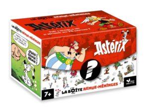 la boite à questions Astérix. Idées cadeaux pour enfant de 7 ans